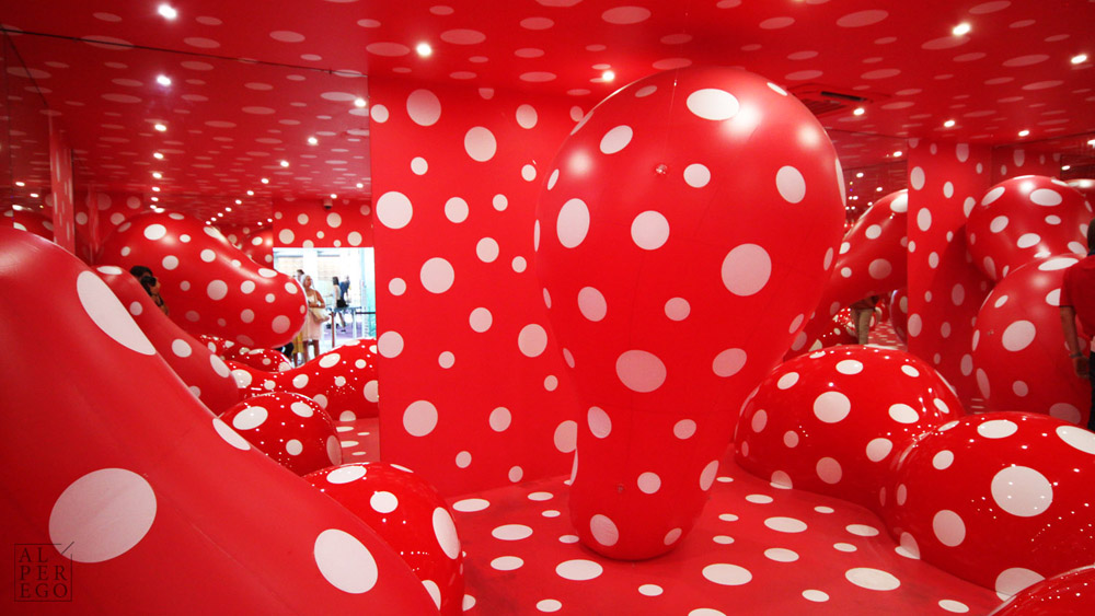 The Guidepost to the Eternal Space by Yayoi Kusama