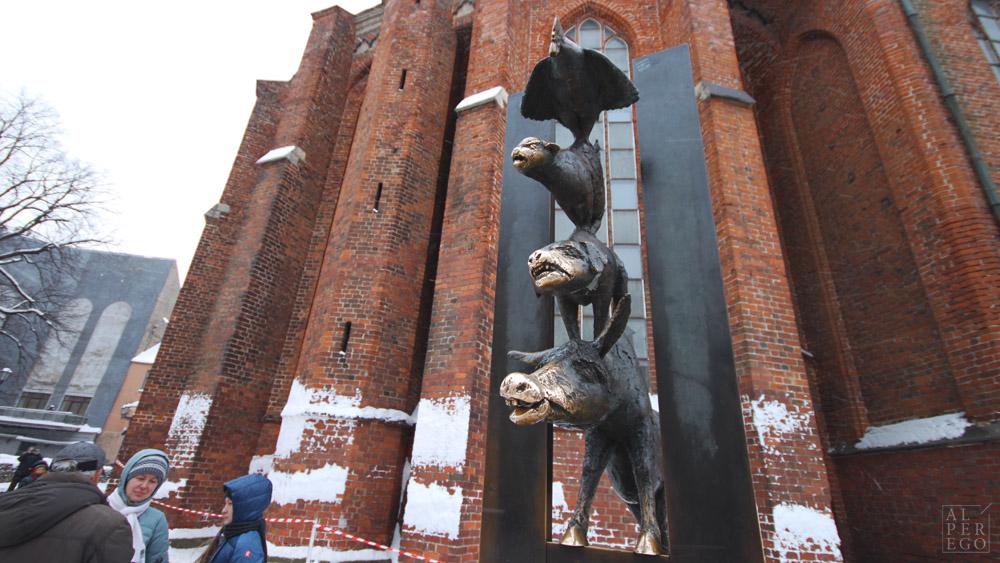 Town Musicians of Bremen by Krista Baumgaertel