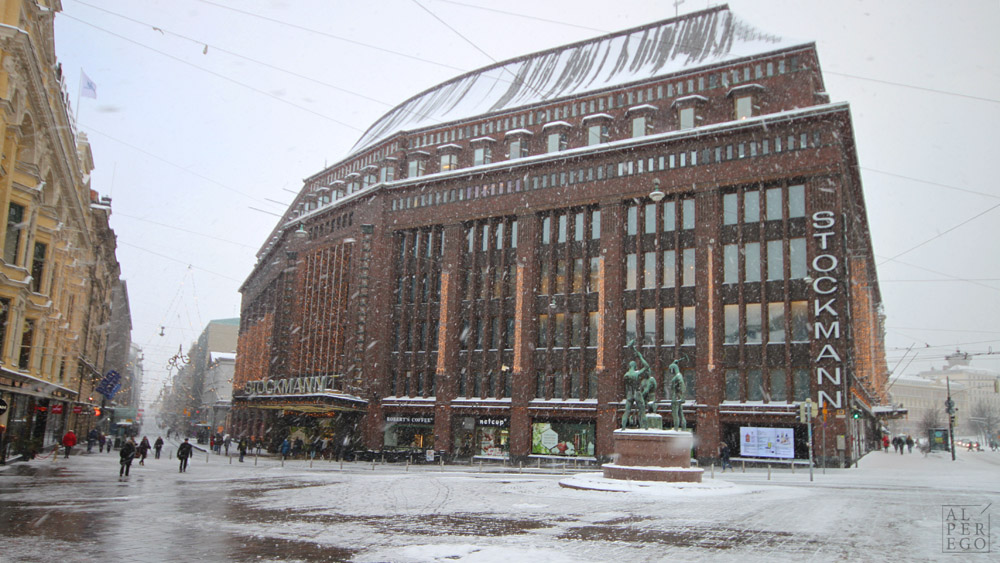 Stockmann Department Store by Sigurd Frosterus