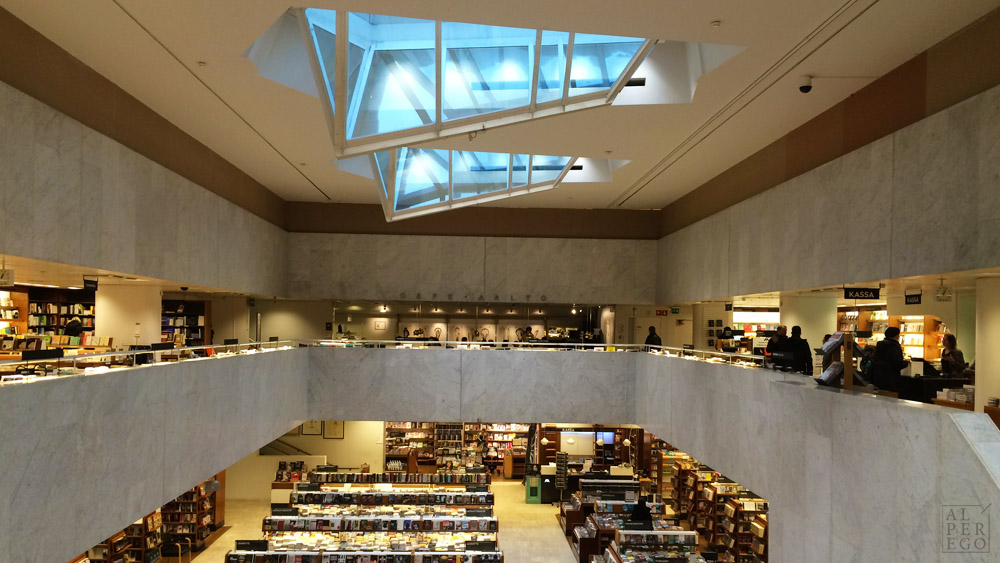 Inside the Academic Bookshop.