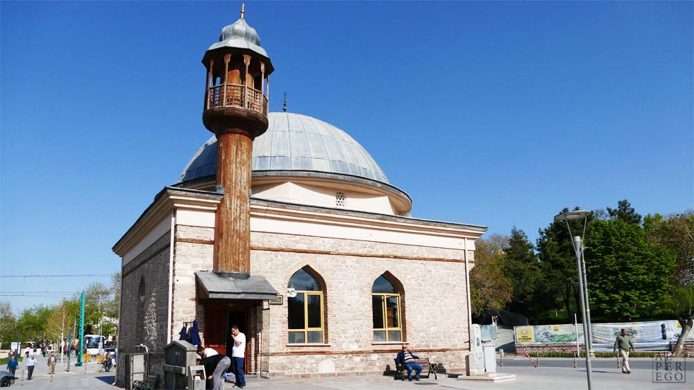 Ak Mosque.  Ak Camii