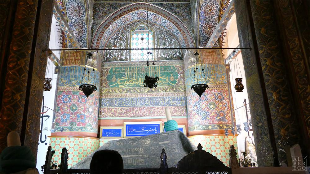 Mevlana's tomb.