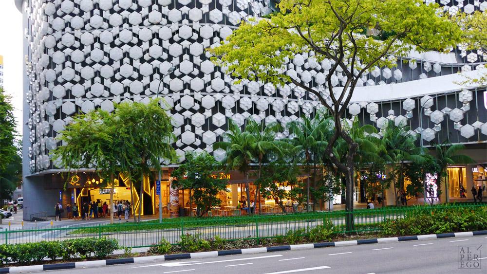 Iluma Mall by Woha Architects.