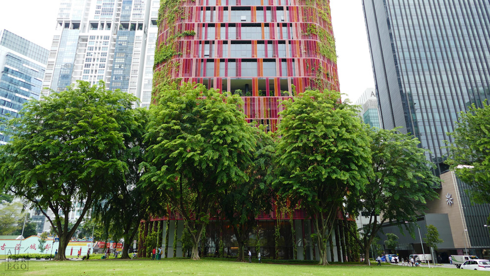 Oasia Downtown by Woha Architects.