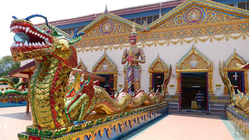 Thai Buddhist Temple Wat Chayamangkalaram.