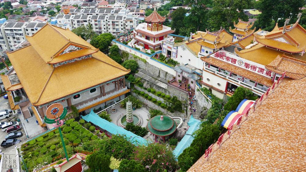 Buddhist Temple Kek Lok Si.