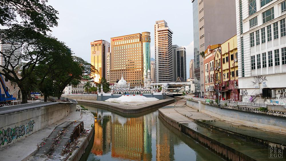 Masjid Jamek where Klang river meets with Gombak river