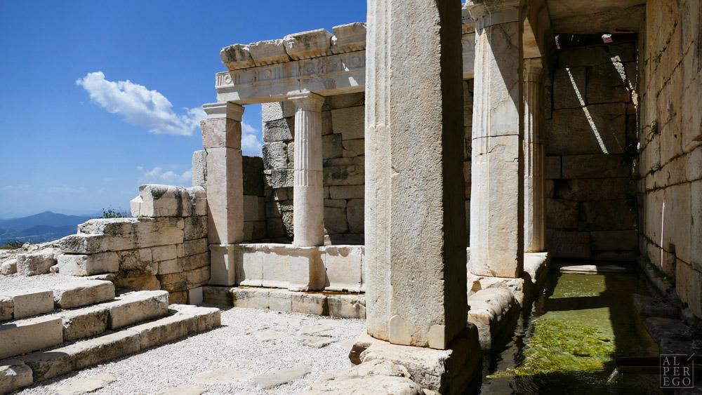 The Late Hellenistic Fountain (50-25 BC) /  Geç Hellenistik Çeşme (MÖ 50-25)