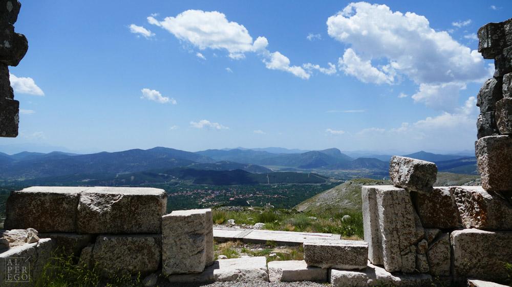 Beautiful view from Sagalassos /  Sagalassos'tan şahane manzara