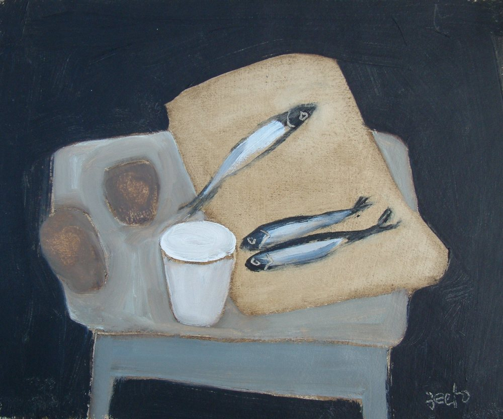 Sprats On Toast Oil