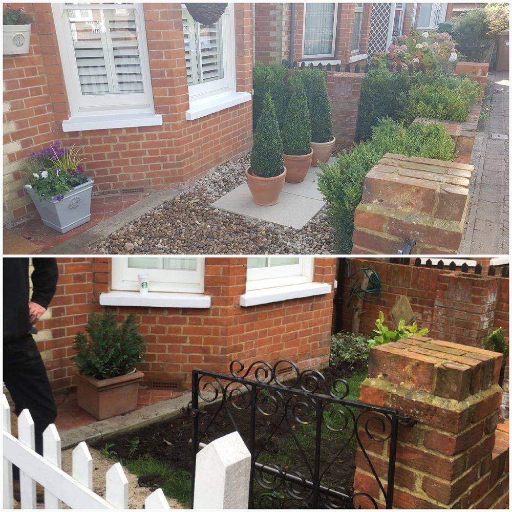front garden make over