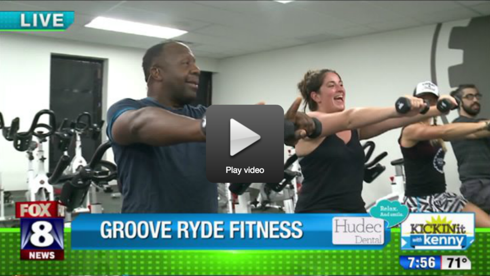 Fox 8 New's Kenny Crumpton got his Groove on with us. Watch HERE.