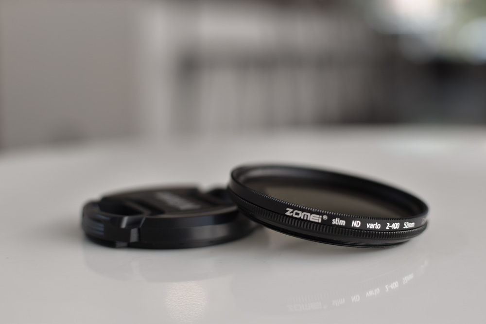 Zomei variable neutral density (ND) filter- Purchased June, 2016