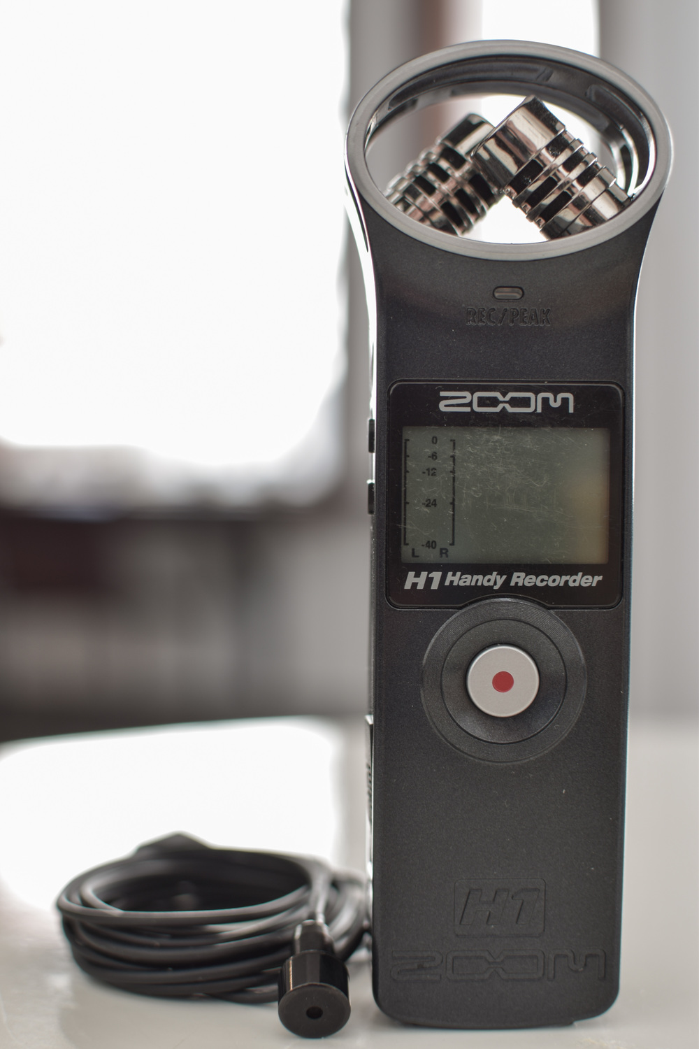 Zoom H1 recorder - Purchased June, 2016