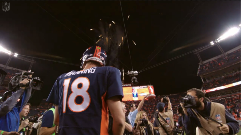 """Peyton Manning: 509 