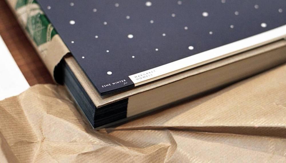 #tbt Esme Winter for @margarethowellltd 2014 #bespoke #printedpaper #printedinengland #madeinengland #margarethowell #powerofpaper #giftwrapping #patternpaper #decorativepaper #timeless #classic #esmewinter