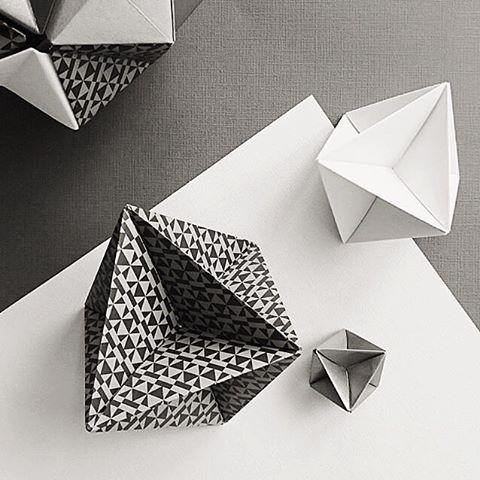 Peggy #patternpaper #esmewinter #decorativepaper regram from @origami_est ▪️▫️