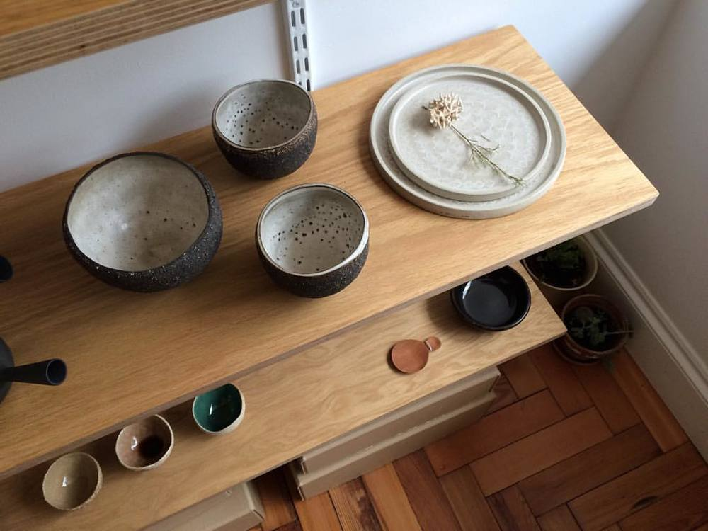 A calming, beautifully curated collection of objects at @momosanshop.