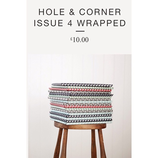 Hole & Corner Issue 4 perfectly packaged in a selection of our papers - order now in time for Christmas! #hole&corner #esmewinter #patternpaper #stationary #christmas2014 @holeandcorner