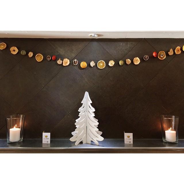 Enjoying the decorations @riverstation_ #bristol #christmas2014