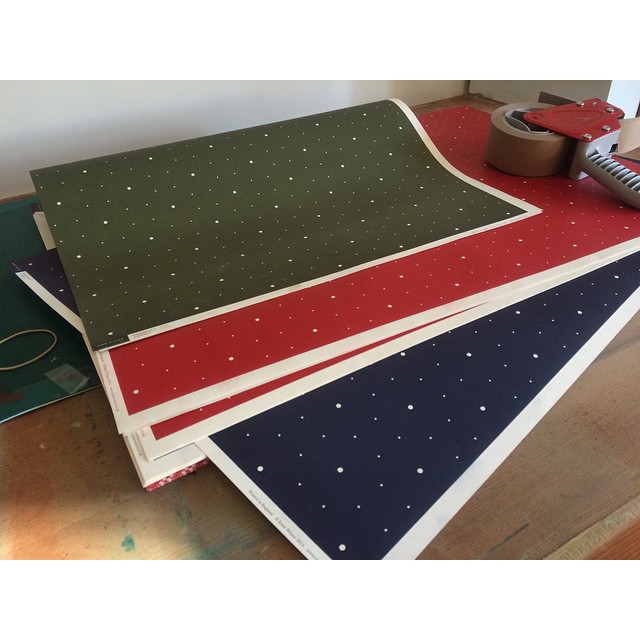 #esmewinter #margarethowell #christmas2014 #patternpaper #stationary