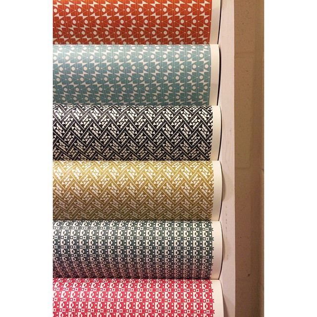 A selection of the Patterned Papers available this Winter. #esmewinter #bookbinding #wrappingpaper #stationary