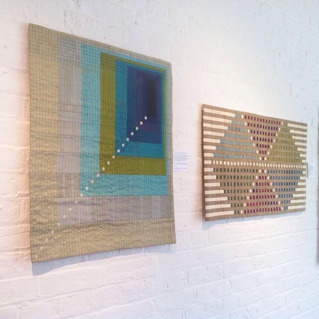 🙏 Original Lucienne Day Silk Tapestries at @twentytwentyone