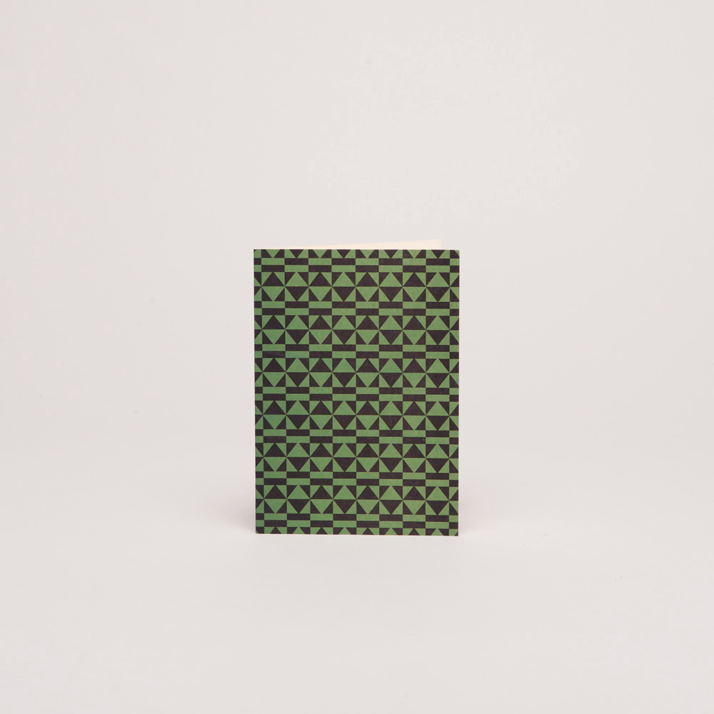 PEGGY – BLACK/GREEN<br>Single Card: C015A