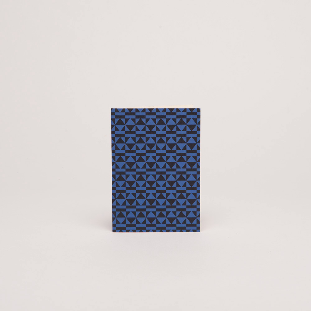 PEGGY – BLACK/KLEIN BLUE<br>Single Card: C015C
