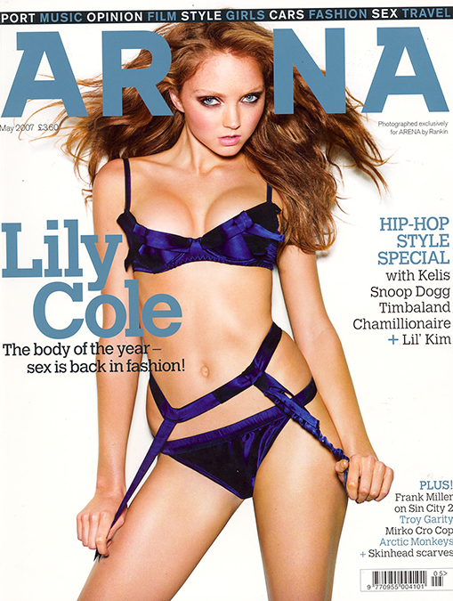 Lily Cole_Arena May 2007_Coverh670