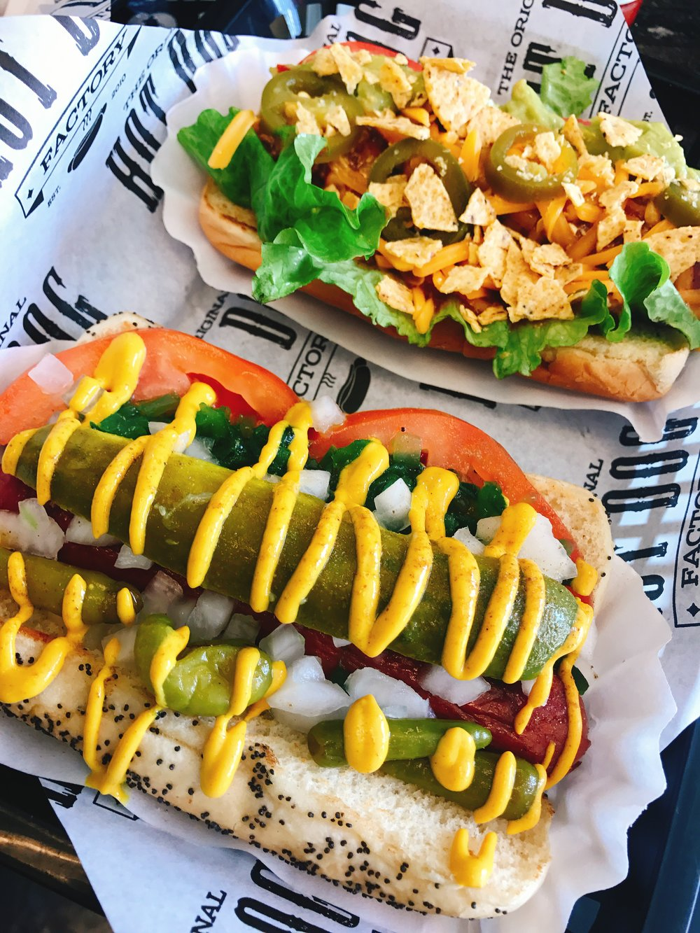 The Chicago Dog and the Taco Dog
