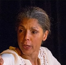 Diane Barnes writes and performs for the theater. She will appear at The Marsh in SF thru early Feb 2018 (see Notices).