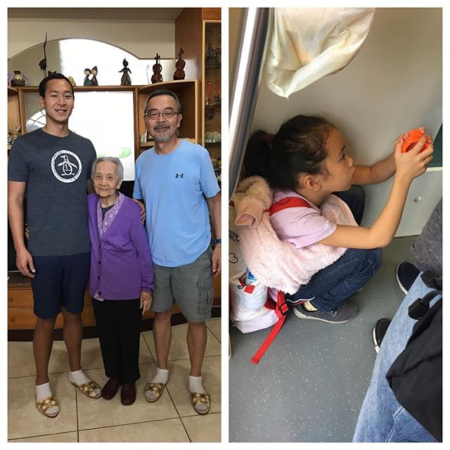 On the left is my Grandaunt, she is 101 years old. On the right, is my girlfriend's little cousin, Dan Dan, she is not 101 years old. My Grandaunt still greets me at the door whenever I come to visit and up until a year ago, she was still able to perform toe touches and squats. Dan Dan performs squats whenever she is tired! Both of them have lived in Taiwan their entire lives and grew up in a culture that promotes more movements, such as squatting, and less sitting in chairs. ----------------------------------------- When done properly, squatting is one of the best exercises you can do to promote better posture and breathing mechanics to help with tri-planar movement during gait. It promotes improved.. 1️⃣Diaphragm positioning 2️⃣Pelvic floor positioning 3️⃣Rib expansion 4️⃣Abdominal activation 5️⃣Calf lengthening 6️⃣Sympathetic inhibition 7️⃣You name it. ----------------------------------------- So, if you're lucky enough to have little kids of your own, you may notice how easily they can get into a proper squat position. Encourage them to continue with it and see the benefits as they grow up!  Please like or share if you enjoyed this post! If you would like more information or have questions about your health, feel free to call today at 301-744-9673! Dr. Jan  #physicaltherapy #squat #squats #asiansquat #health #healthylifestyle #posture #therapy #squatting #squattypotty #fitness #goodform #gains #legday #healthy #bodybuilding #youth #positivevibes #family #taiwan #asian #goals
