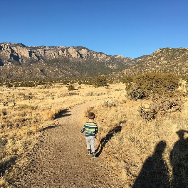 #fbf to #hiking the #sandias with my little adventurer. He's the best hiking buddy a mom could ask for.