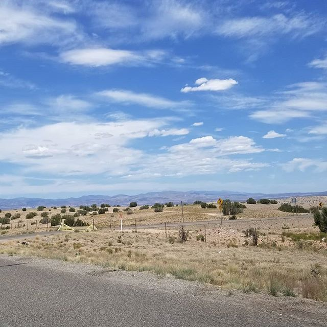 On the way to #cochitilake this morning. I love these drives through the #landofenchantment. #newmexico #newmexicotrue #roadtrip #adventurer #explorenm