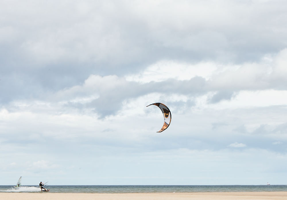 Kitesurf at one of many near by bays!