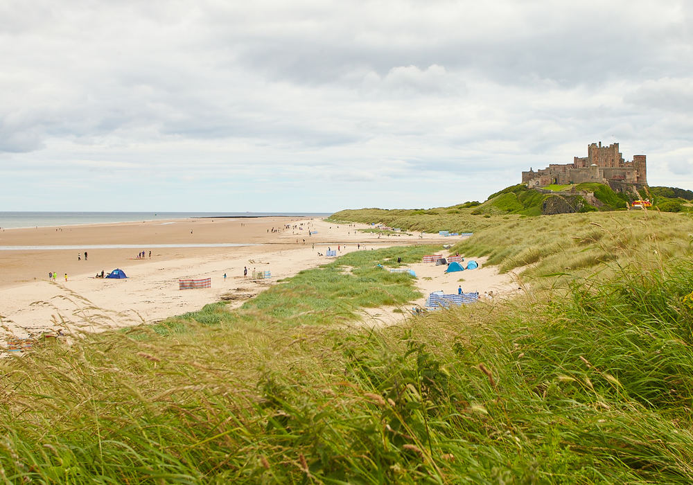 Visit the stunning Bamburgh Castle