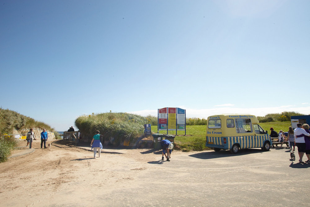 Eat ice cream