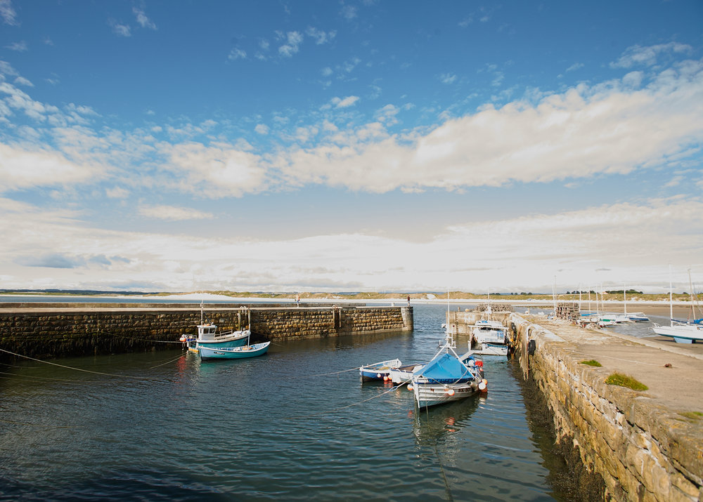 Our harbour is the only west facing harbour on the whole of the east coast, how cool is that!