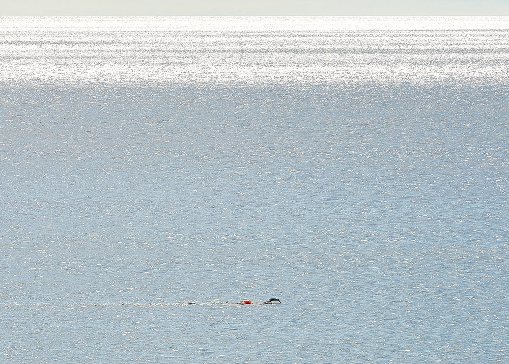 Swim in beautiful clear water
