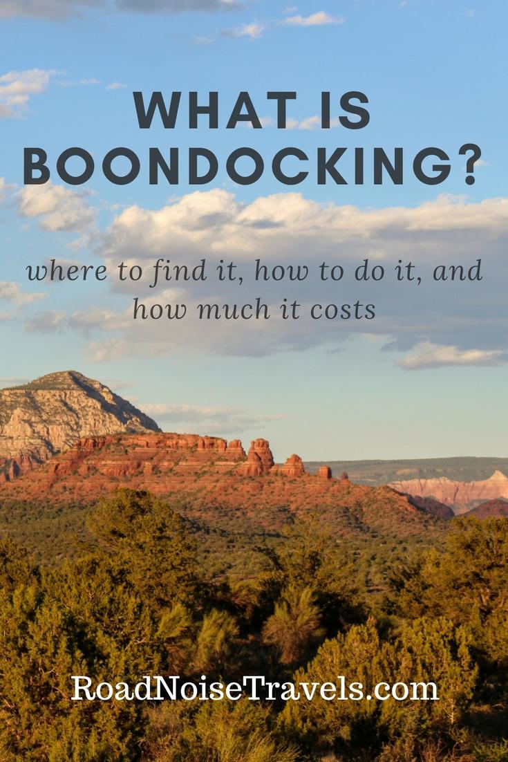 Whatisboondocking?