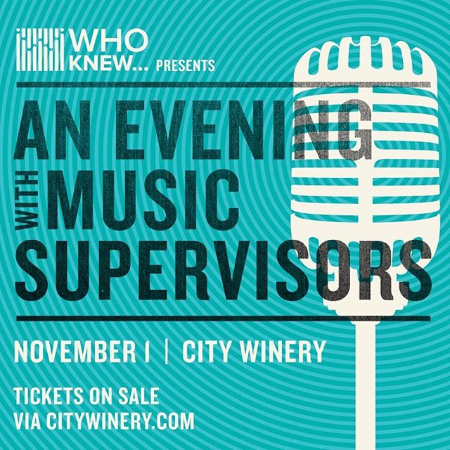 "Tickets on sale now- https://bit.ly/2DB562U  If you are a songwriter, artist, publisher, label executive, or simply want to learn about the synchronization process, you can't miss this event. It's like ""Shark Tank"" with a panel of 5 A-list music supervisors in the role of the sharks; the entrepreneurs are 8 emerging musical artists. The format is simple- each artist performs a single song and gets to engage directly with the music supervisors and learn about what they liked about the song and how it may work for their projects.  The film, television and advertising music supervisors represent such notable outlets as Hollywood blockbuster films, Netflix Originals, hit TV shows, massive global brands, major international franchises, TV launch campaigns and promos, and much more."
