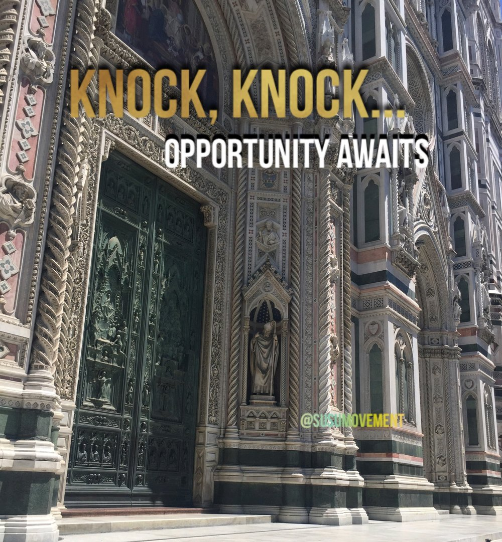 knock knock Opportunity