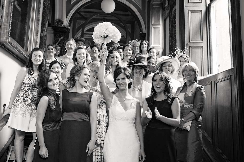 bridesmaids, aberdeen wedding photographer, society of advocates aberdeen, aberdeen weddings, bridal party
