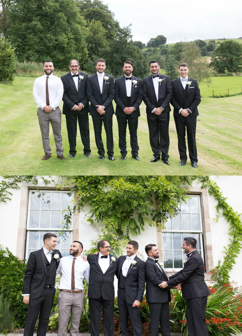 wedding at logie country house, inverurie