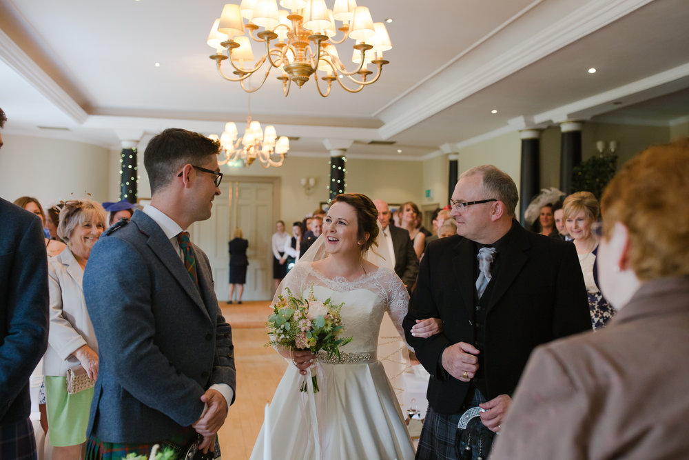 pittodrie house hotel wedding, wedding photographer Aberdeen