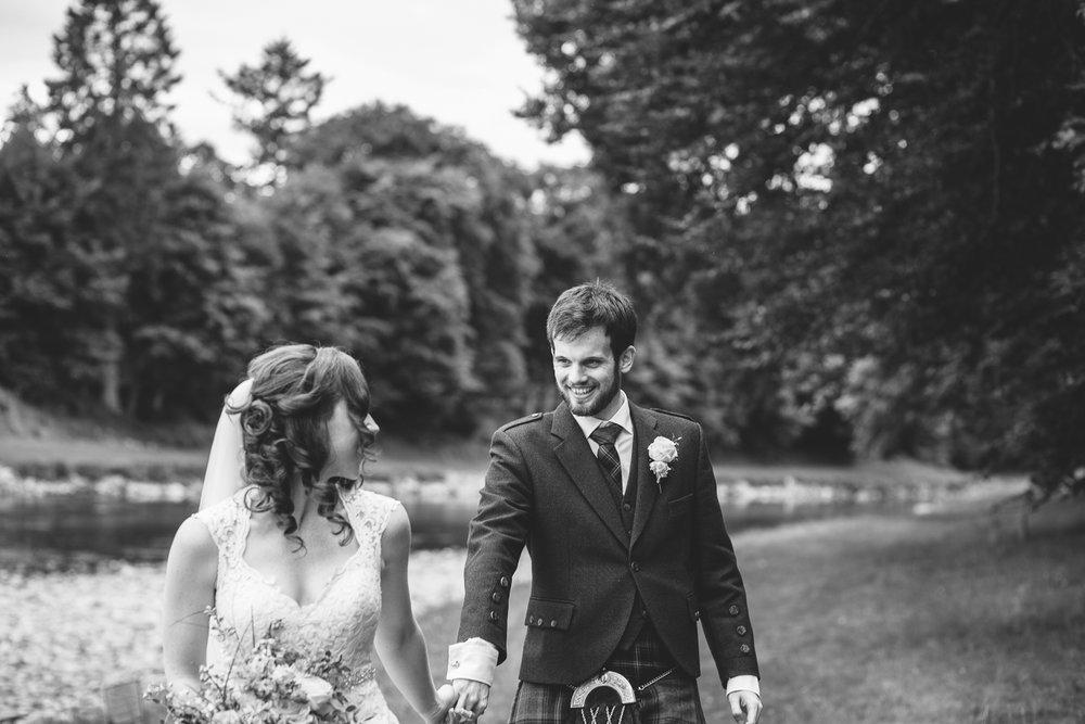banchory lodge wedding, wedding photographer in Aberdeen