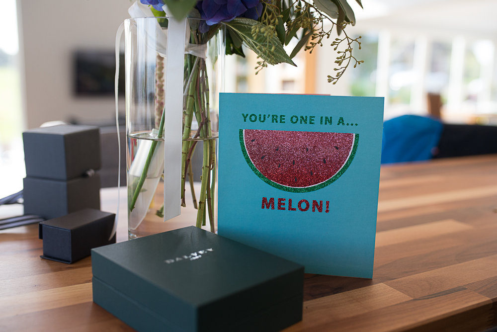 you are one in a melon, wedding details, Scottish wedding