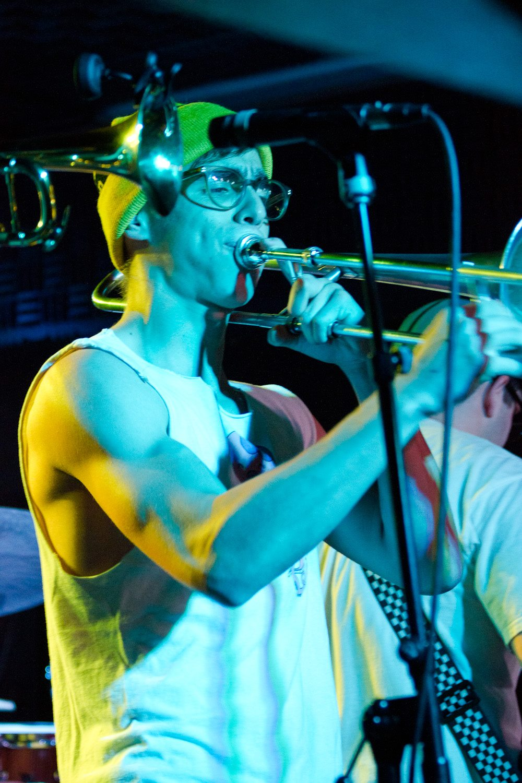 Dan Wenger, trombone