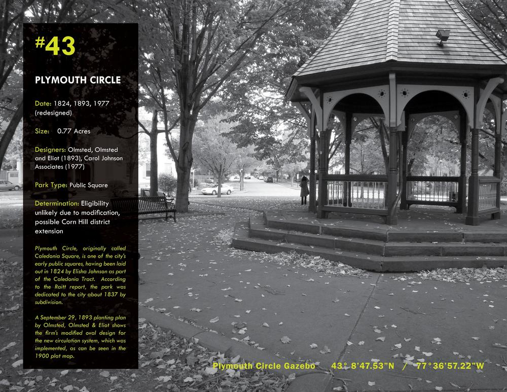 Survey of Rochester's Historic Parklands   2010 NYU-ASLA Honor Award, Historic Preservation